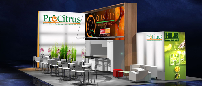 Setting Up An Exporters Trade Show Booth